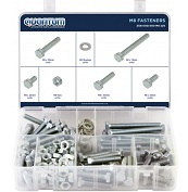 ASSORTED BOX OF M8 FASTENERS (BOX OF 220 PIECES)